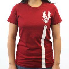 Halo Waypoint Store - Ladies UNSC Red Team T-Shirt
