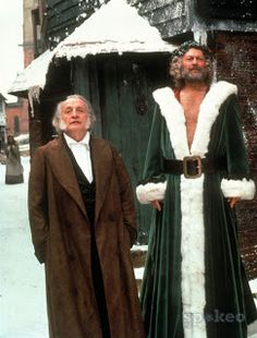 scott r and edward woodward in the 1984 version of a christmas carol - Best Version Of A Christmas Carol