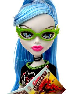 Ghoulia in Her Comic Book outfit Monster High