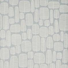 Little Trees Fog Grey Wallpaper - £59.95 per roll