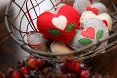 Heart ornaments- can only be put on the tree once you have done a kind act for someone else. Love this idea, will make them in time for next year!
