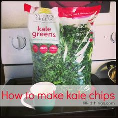 I made kale chips once and LOVED them. How about you?