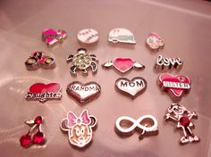 Assorted Floating Charms-High Quality-Floating Charms-Teen Jewelry-Women's Jewelry-Memory Locket Charm-Floating Locket Charms 1 (each)