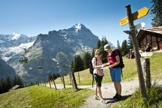 Hikes in the Grindelwald area.. CHECK!