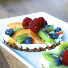 Cream Cheese Fruit Tarts | The Sweets Life