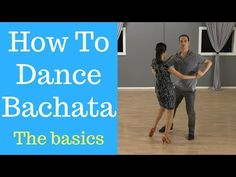Learn the Bachata basic steps in this video. You'll learn the side basic which is one of the most used Bachata dance moves. If you want more dance lessons li. Bachata Dance, Tango Dance, Jazz Dance, Dance Choreography, Dance Music, Dance Wear, Steps Dance, Dance Tips, Rock And Roll Dance