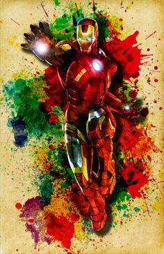 Iron man poster digital the avengers by dapperdragonarts on etsy marvel com Marvel Comics Art, Marvel Heroes, Video Iron Man, Iron Man Poster, Iron Man Art, Marvel Tattoos, Avengers Art, Iron Man Tony Stark, Marvel Wallpaper