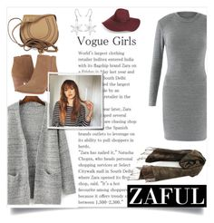 """Zaful"" by maidaa12 ❤ liked on Polyvore featuring Franco Sarto, Chloé and Halogen"