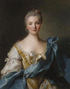 'Madame de La Porte' oil on canvas painting by Jean-Marc Nattier, 1754, Art Gallery of New South Wales.jpg