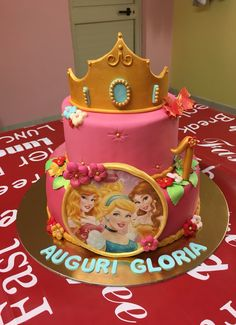 #Torta #Principesse #Disney