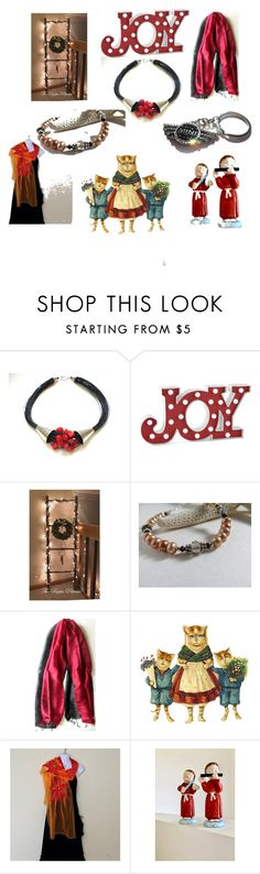 """""""Joy your Life"""" by anna-recycle ❤ liked on Polyvore featuring North Pole Trading Co."""