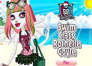 monster high swim class rochelle goyle