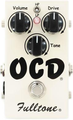 Fulltone OCD Obsessive Compulsive Drive Pedal   Sweetwater.com