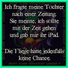 ...Zeit/ Ipad   ;-) Funny As Hell, Funny Cute, Hilarious, Funny Picture Quotes, Funny Pictures, Good Jokes, Life Is Hard, Funny Facts, Cool Words