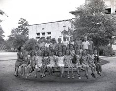 A closer look at the picture of Camp School.