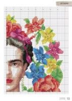 Gallery.ru / Фото #19 - CrossStitcher №334 2018 - Chispitas Cross Stich Patterns Free, Cross Stitch Designs, Cross Stitching, Cross Stitch Embroidery, 123 Stitch, Pixel Crochet, Cross Stitch Boards, Vintage Cross Stitches, Crochet Cushions