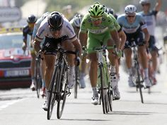 TOUR DE FRANCE STAGE 13 GALLERY The stage came down to a reduced sprint finish...