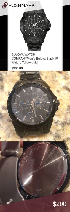 Bulova Men's Watch🕰 Authentic. Mens watch. In excellent condition. Bulova Accessories Watches