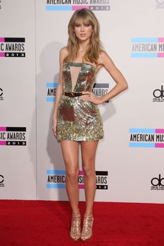 Taylor Swift wins artist of the year at the 2013 AMA's