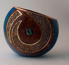 Image result for gourd art cactus fiber
