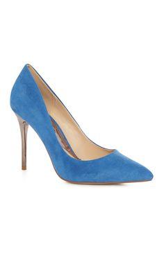 Primark - Blue Court Metal Heel
