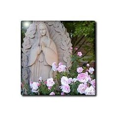 Beautiful Prayer Roses- Flowers- Mary- Spirituality- Photography - Tiles