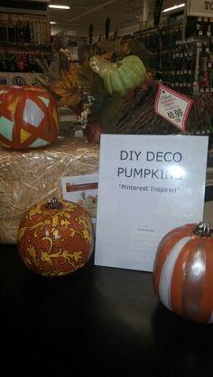 Ryan Siobhan Custom Deco Pumpkins