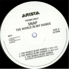 "For Sale - Snap The World In My Hands UK Promo  12"" vinyl single (12 inch record / Maxi-single) - See this and 250,000 other rare & vintage vinyl records, singles, LPs & CDs at http://eil.com"