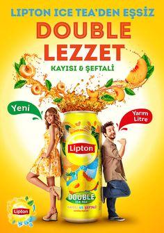 Lipton Ice Tea Double Ad Campaign - Concept&KV Design on Behance