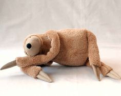 This very huggable plush sloth.