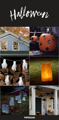 Get Inspired by These Creative Outdoor Halloween Ideas   POPSUGAR Home