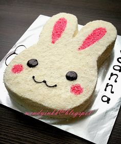 Table for 2.... or more: Bunny Cake - Kiddy Cakes #1