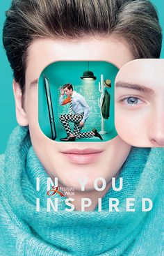 Festival Walk 15/16 Thematic Campaign: In you. Inspired on Behance