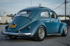This 1957 Volkswagen Beetle has been thoughtfully customized with special attention paid to performance and period-correct parts, many sourced from the Porsche 356 parts bin. An early 1500cc Porsche engine has been fitted, as have 356B finned brakes, and 356 steel wheels with Carrera spacers and long studs to fill out the fenders. Find it on eBay in San Francisco, California.