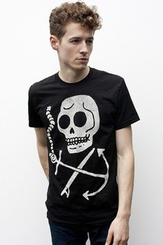 Skull & Anchor by Make Beliebe Clothing Co. $25