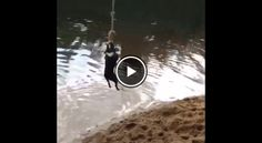Check Out this Boston Terrier Rope Swings Into Lake! Watch here ► http://www.bterrier.com/?p=25740