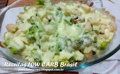 lol Married: Receita Low Carb #7 - Frango gratinado com Brócolis e Bacon