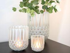 Fink Teelichthalter / Vase Rima Weiß kaufen im borono Online Shop