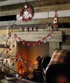 Nordic Christmas decorations from Matalan.  http://pinterest.com/matalan/