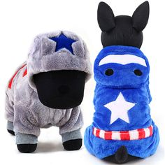 162675787e Petcircle New Fleece Dogs Clothes Warm Winter Dog Costume Pet Coats Hoodie  Soft Cartoon pet Jumpsuit Clothing for Small Pets