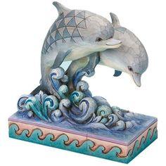 Jim Shore Dolphin Figurine