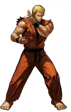 View an image titled 'Ryo Sakazaki Art' in our King of Fighters XIII art gallery featuring official character designs, concept art, and promo pictures. Game Character Design, Comic Character, Live Action, Snk King Of Fighters, Art Of Fighting, Fighting Games, Dragons, Hero World, Street Fights