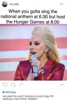 Lady Gaga is the real MVP! These 5 funny pictures would make you laugh too much! Click to see more photos.