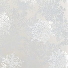 Silver Snowflakes Prismatic Gift Wrap *partial roll*