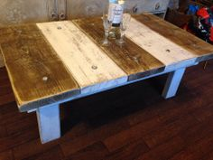 Hand Made Reclamed Wood Coffee Table