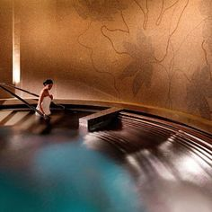 A wide range of soothing treatments may be enjoyed in 14 private spa suites overlooking the pool and gardens. @ Four Seasons Hotel Macao