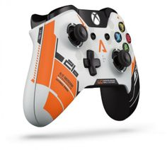 Xbox One Wireless Controller - Titanfall Limited Edition. Increased accuracy developed specifically for Titanfall. Fun Video Games, Video Game Music, Xbox One S, Xbox One Games, Control Xbox, Nintendo Handheld Consoles, Ps4, Playstation, Everything