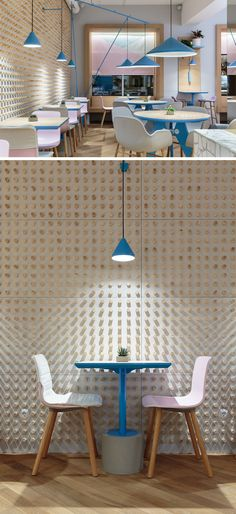 Marat Mazur Has Designed A New Café In Saint Petersburg, Russia. Interior  WallsCafe ...