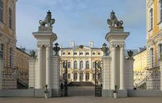 Image result for latvia palace rundale