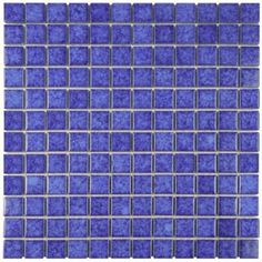 Merola Tile Lagoon Square Pacific 11-3/4 in. x 11-3/4 in. x 6 mm Porcelain Mosaic Floor and Wall Tile-FYFL1SPA - The Home Depot
